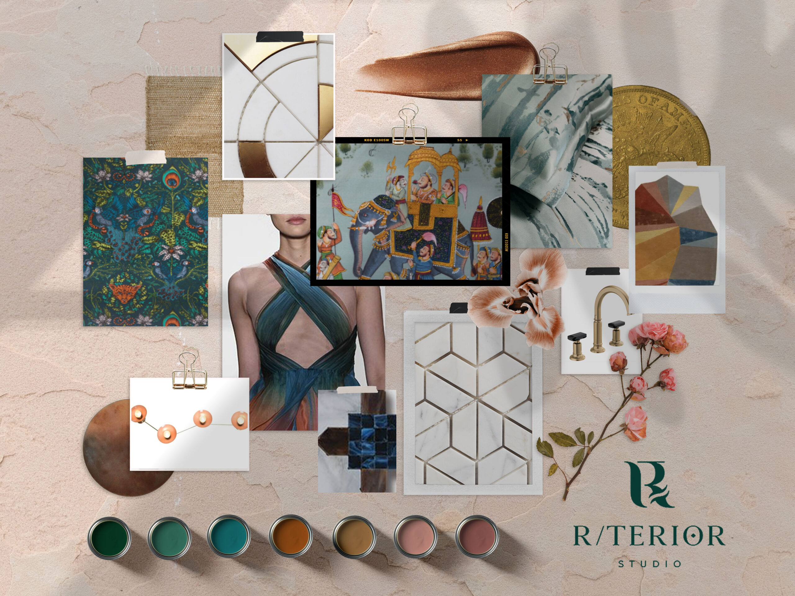 rterior-studio-hollywood-la-Kaleidoscope-Project-moodboard-floral-inspired-metallic-accents-scaled