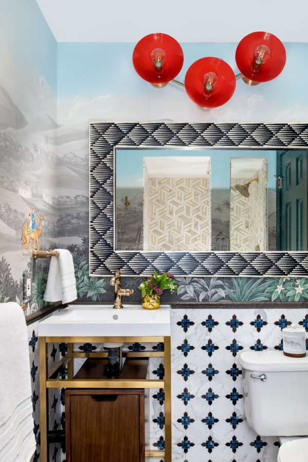 rterior-studio-west-hollywood-bathroom-after-transformation-hand-painted-landscape-wallpaper-bathroom-walls