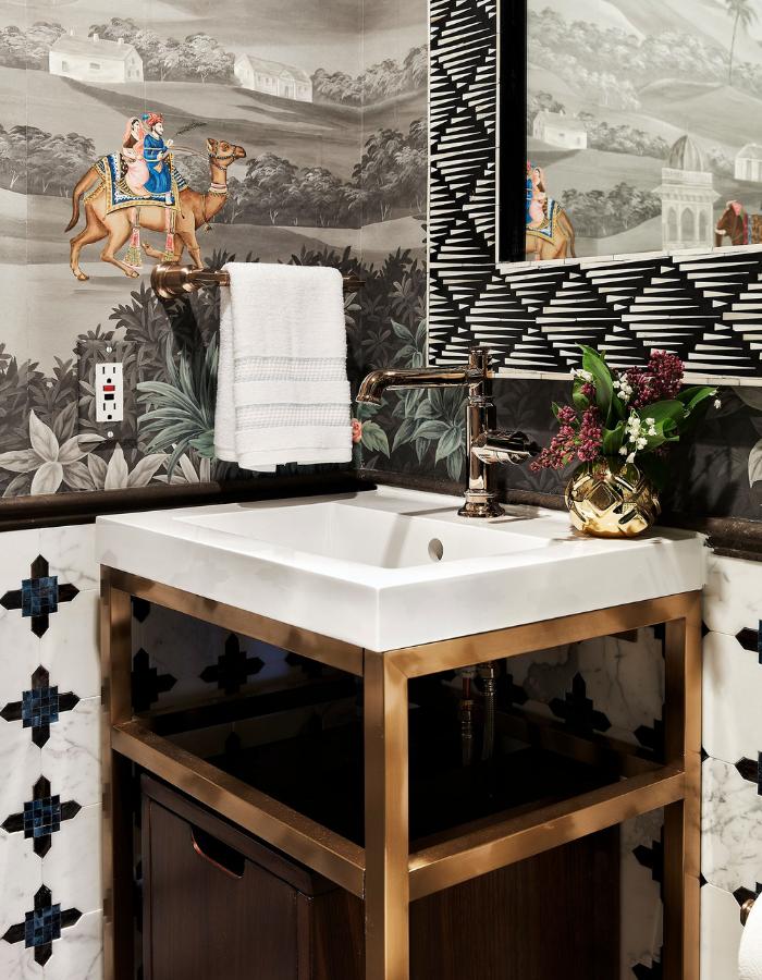 rterior-studio-downtown-la-gracie-handpainted-wallpaper-bathroom-vanity-with-hand-painted-wallpaper